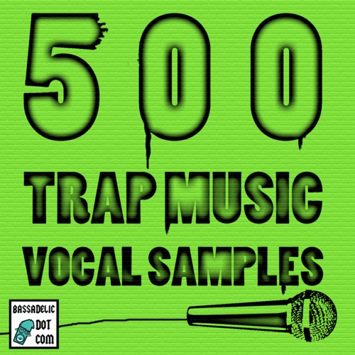 Product picture Trap Music vocal Samples