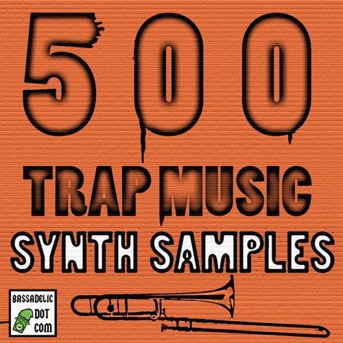 Product picture 500 Trap Music Synth Instrument Samples