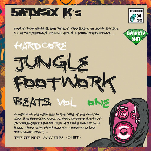 Product picture Hardcore Jungle Footwork Beats (VOL 1)